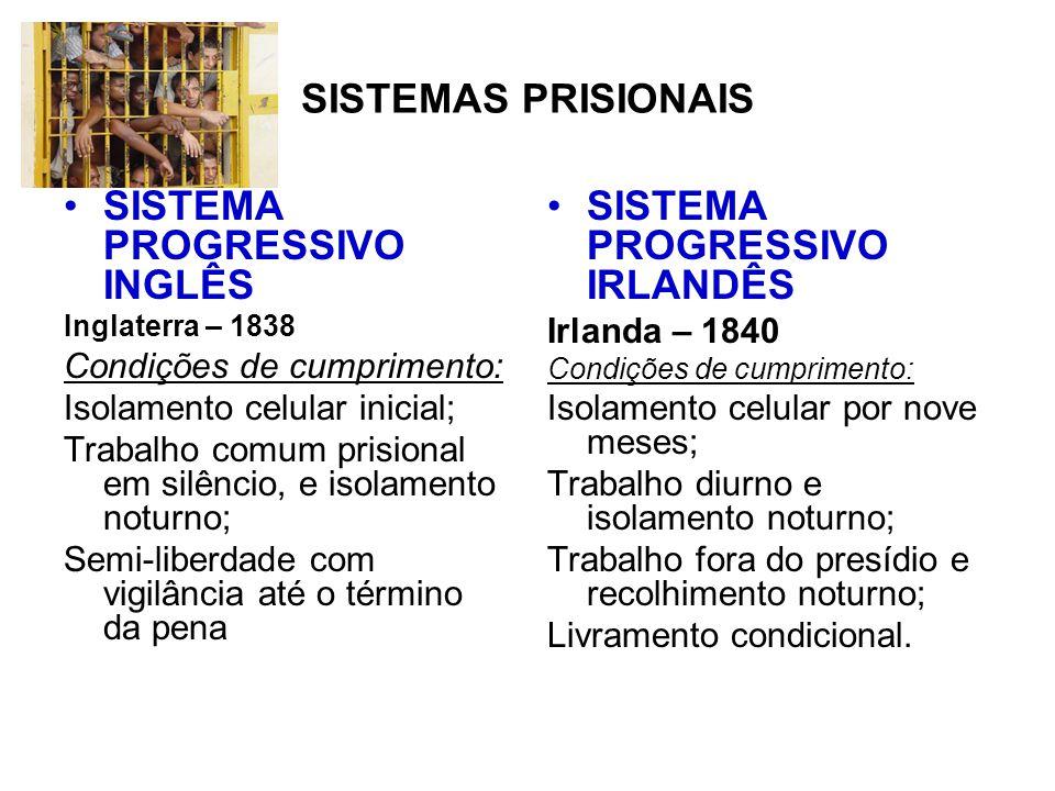 SISTEMA PROGRESSIVO INGLÊS SISTEMA PROGRESSIVO IRLANDÊS