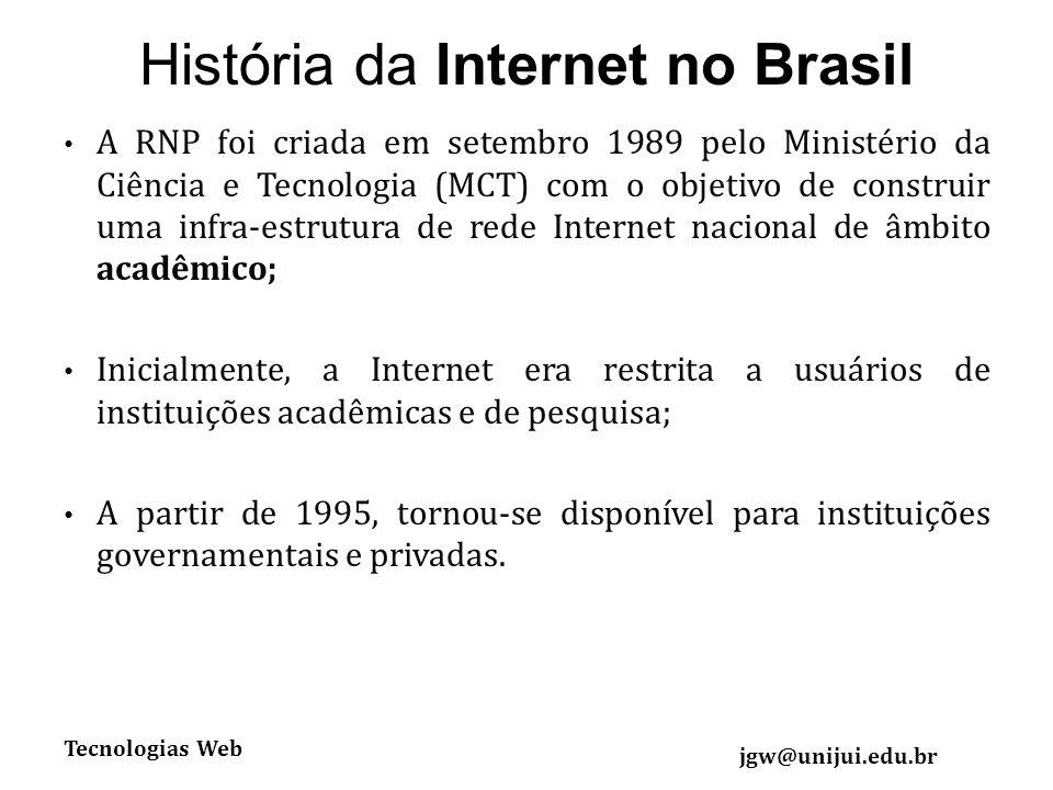 História da Internet no Brasil
