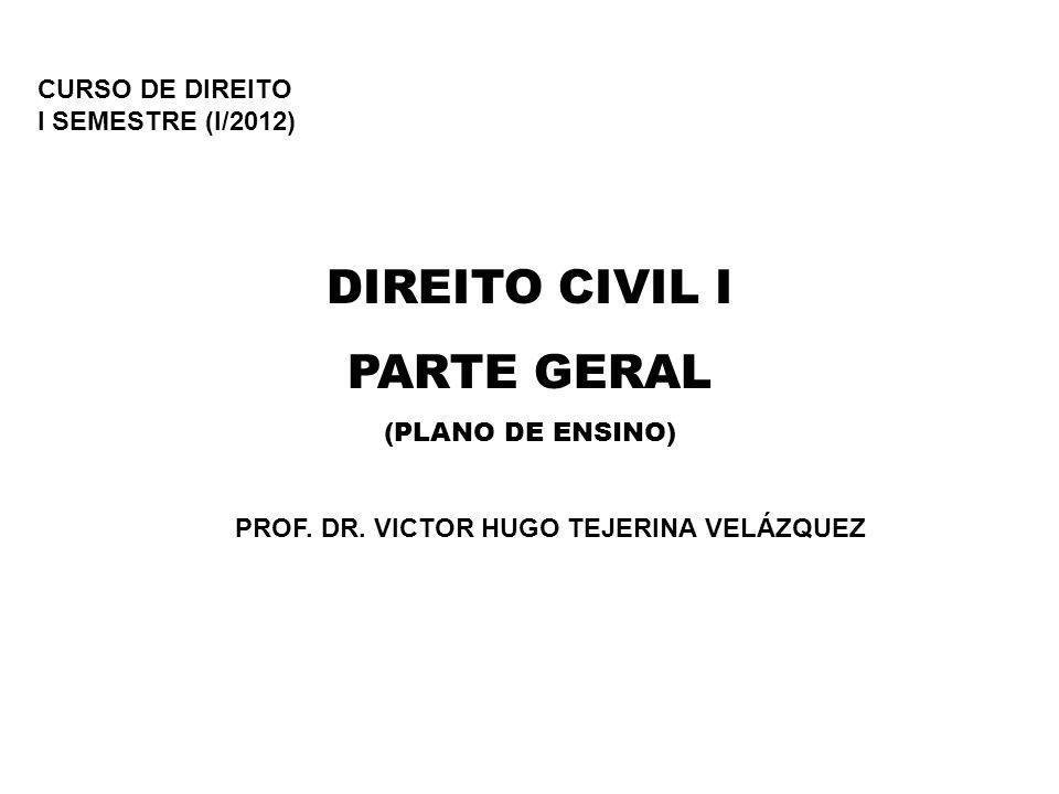 PROF. DR. VICTOR HUGO TEJERINA VELÁZQUEZ