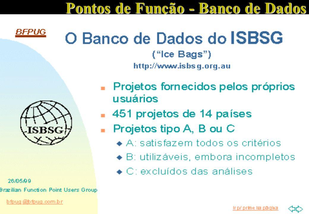 Pontos de Função - Banco de Dados