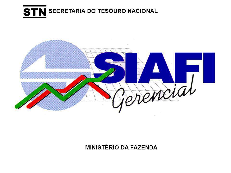 STN SECRETARIA DO TESOURO NACIONAL MINISTÉRIO DA FAZENDA