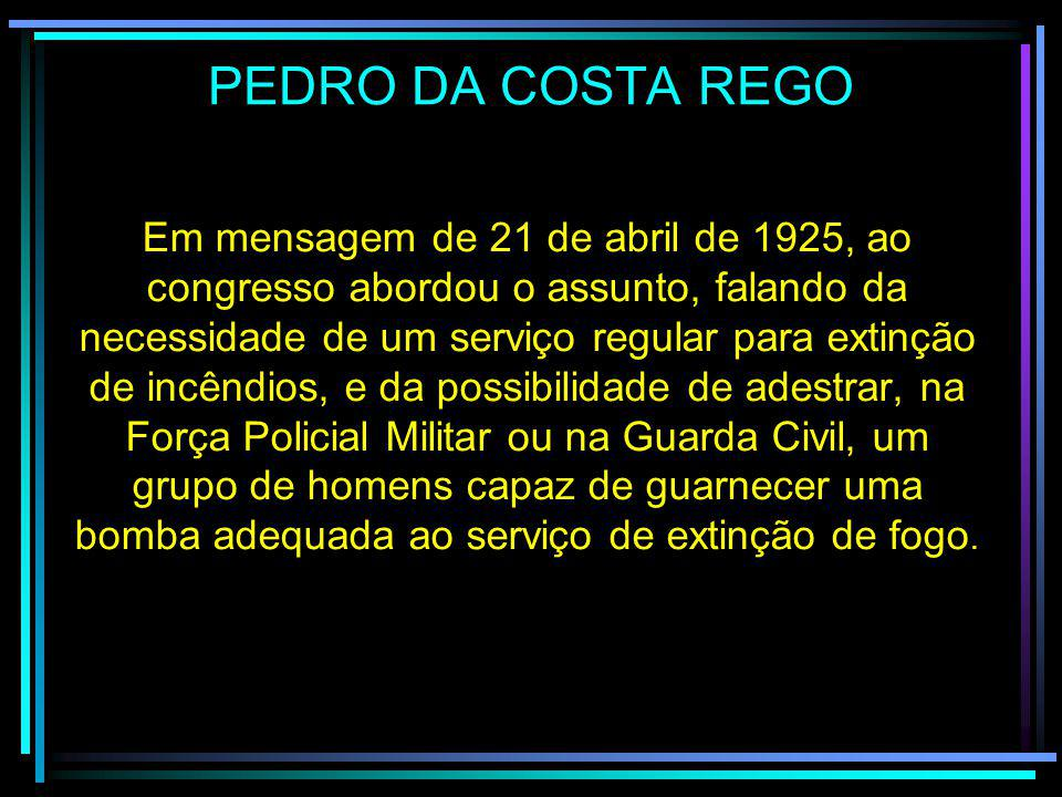 PEDRO DA COSTA REGO