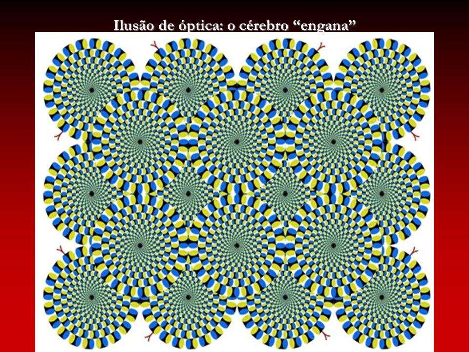 Ilusão de óptica: o cérebro engana