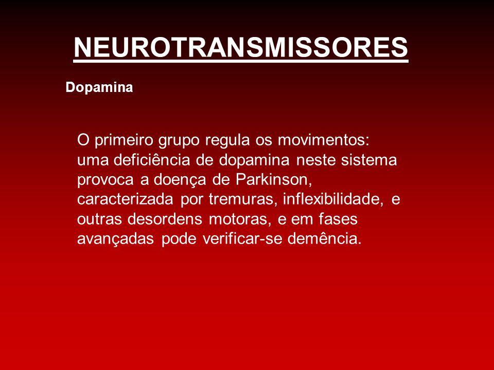 NEUROTRANSMISSORES Dopamina.