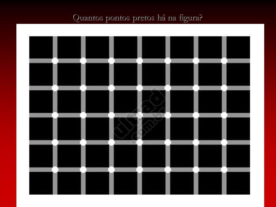 Quantos pontos pretos há na figura