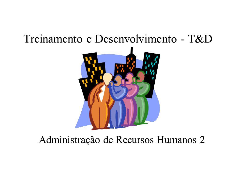 Treinamento e Desenvolvimento - T&D