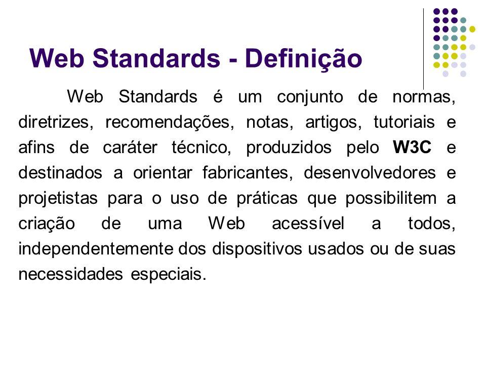 Web Standards - Definição