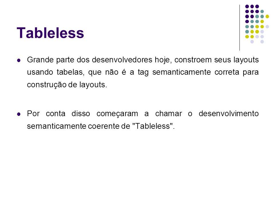 Tableless