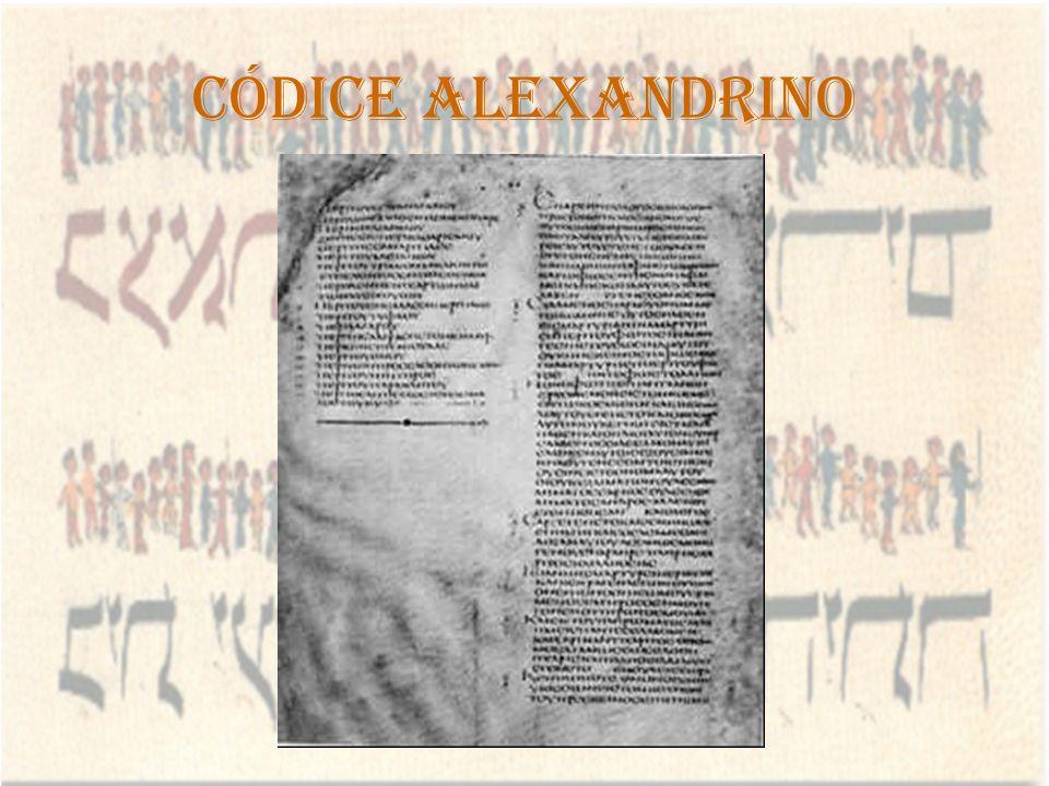 Códice Alexandrino
