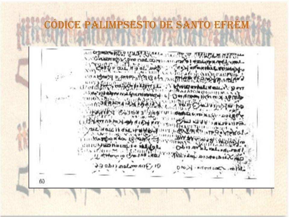 Códice Palimpsesto de Santo Efrém