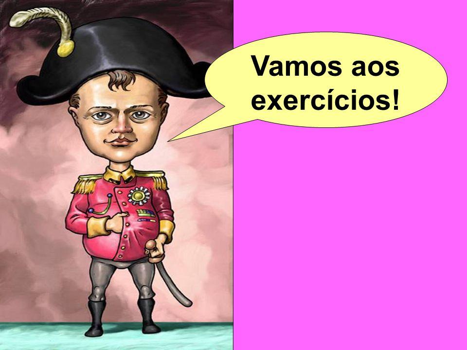 Vamos aos exercícios!