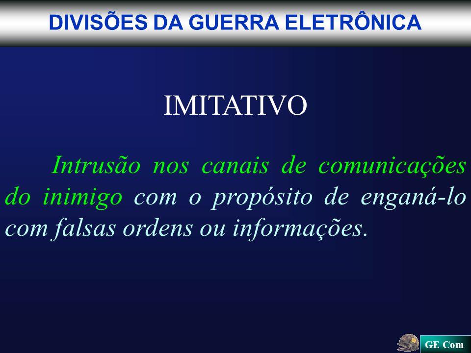 IMITATIVO DIVISÕES DA GUERRA ELETRÔNICA