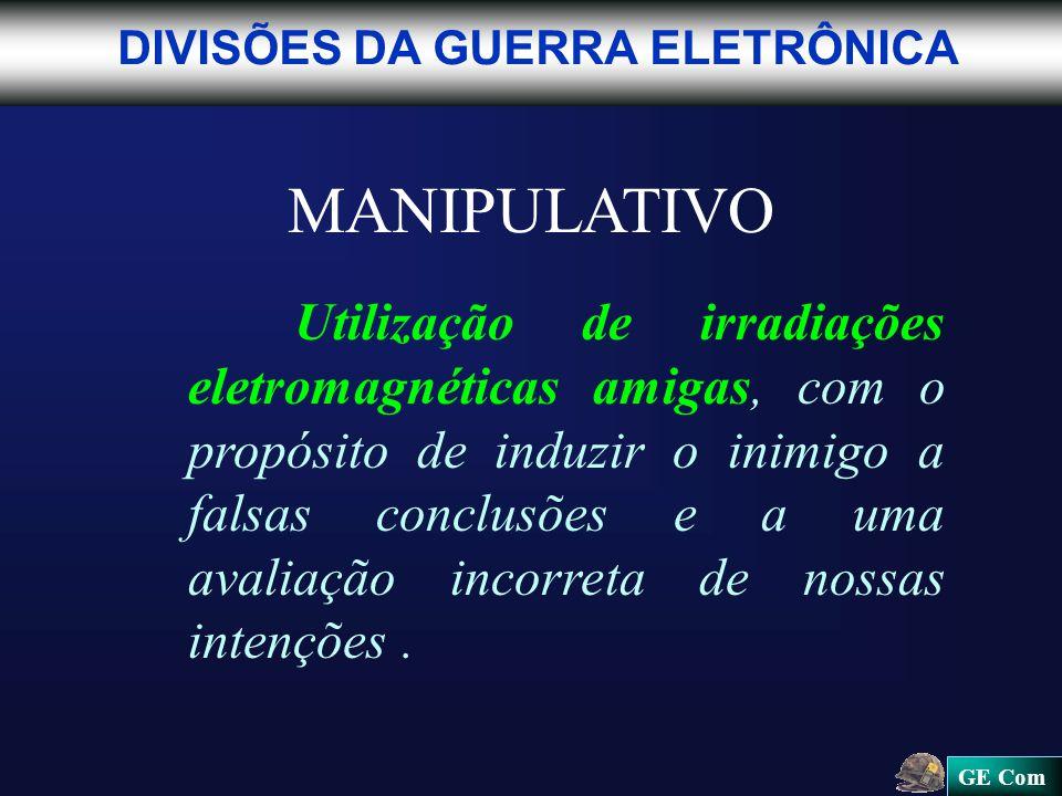 MANIPULATIVO DIVISÕES DA GUERRA ELETRÔNICA