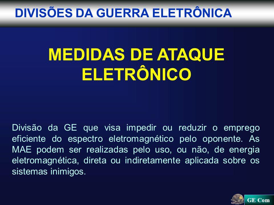 MEDIDAS DE ATAQUE ELETRÔNICO