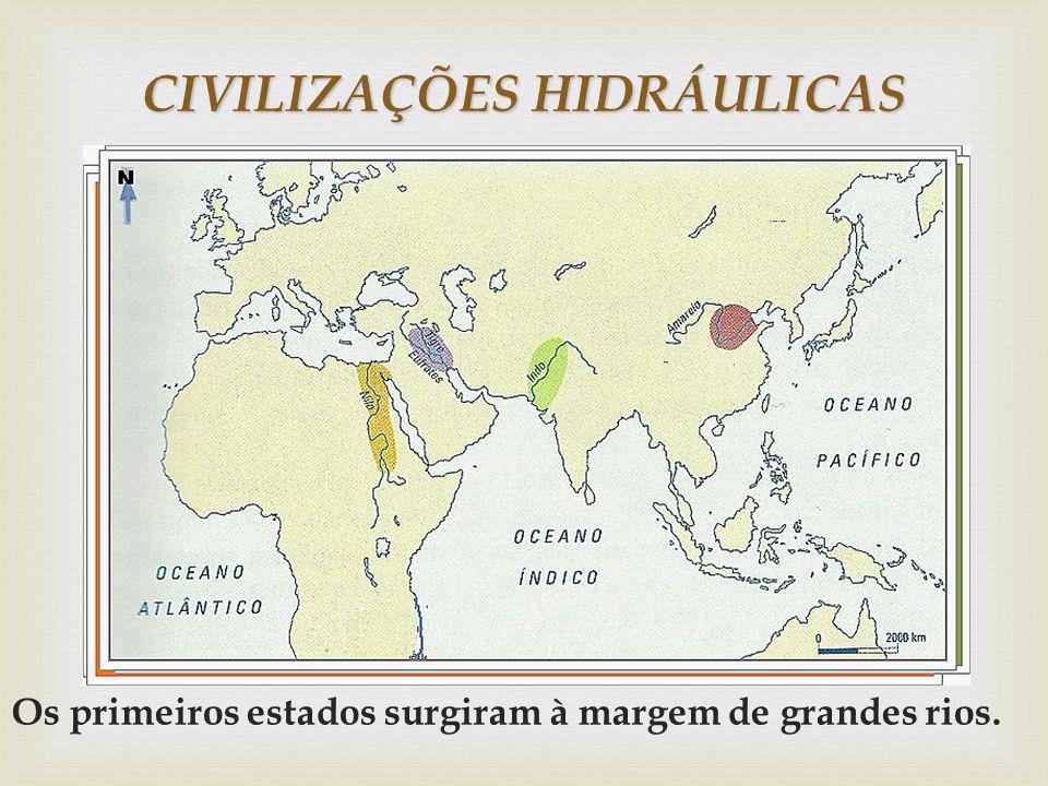 CIVILIZAÇÕES HIDRÁULICAS