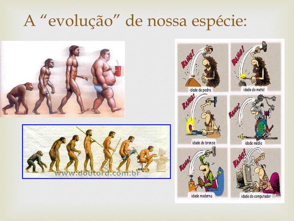 A evolução de nossa espécie: