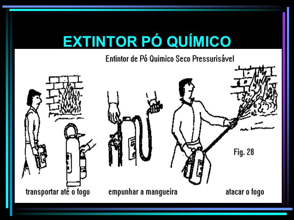 EXTINTOR PÓ QUÍMICO