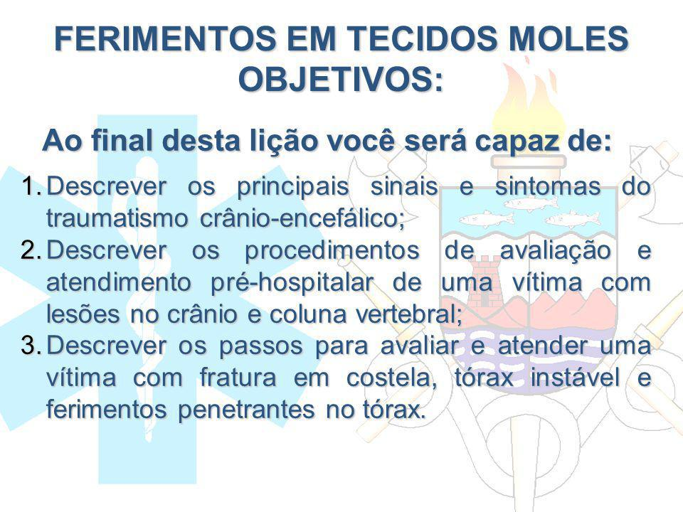 FERIMENTOS EM TECIDOS MOLES