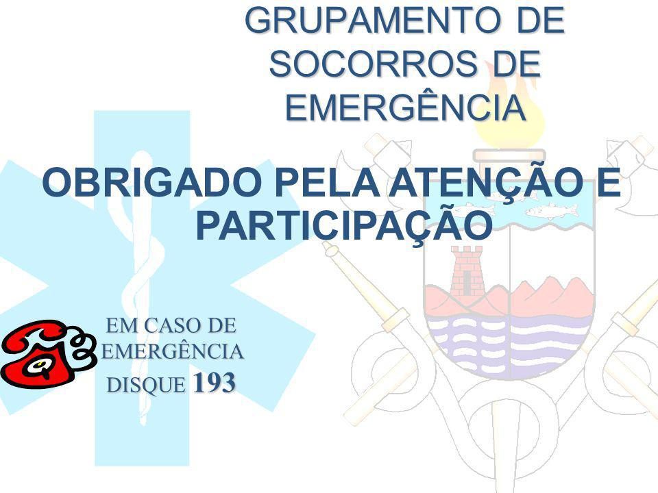 GRUPAMENTO DE SOCORROS DE EMERGÊNCIA