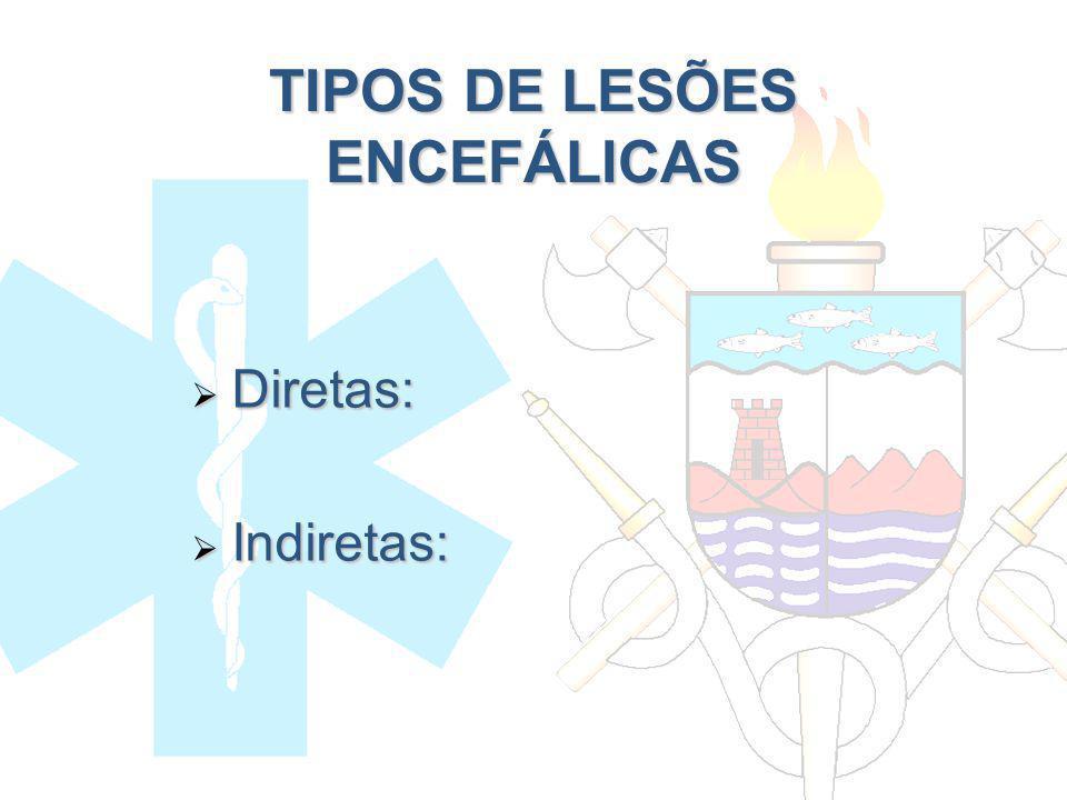 TIPOS DE LESÕES ENCEFÁLICAS