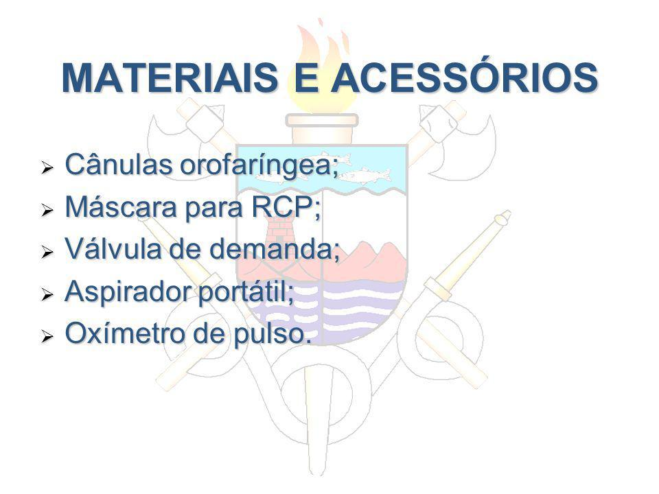 MATERIAIS E ACESSÓRIOS