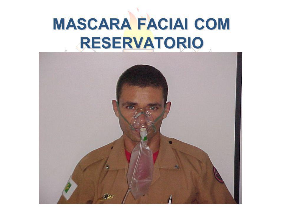 MASCARA FACIAI COM RESERVATORIO
