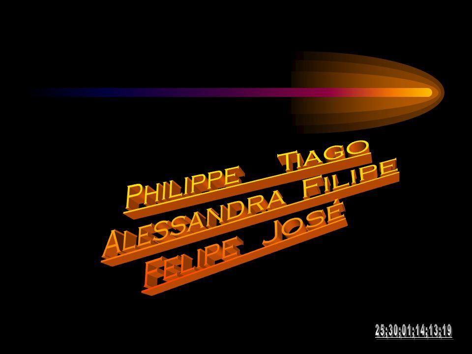 Philippe Tiago Alessandra Filipe Felipe José 25;30;01;14;13;19