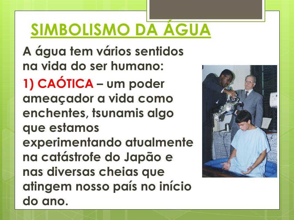 SIMBOLISMO DA ÁGUA