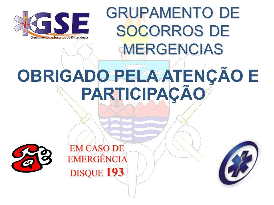 GRUPAMENTO DE SOCORROS DE MERGENCIAS