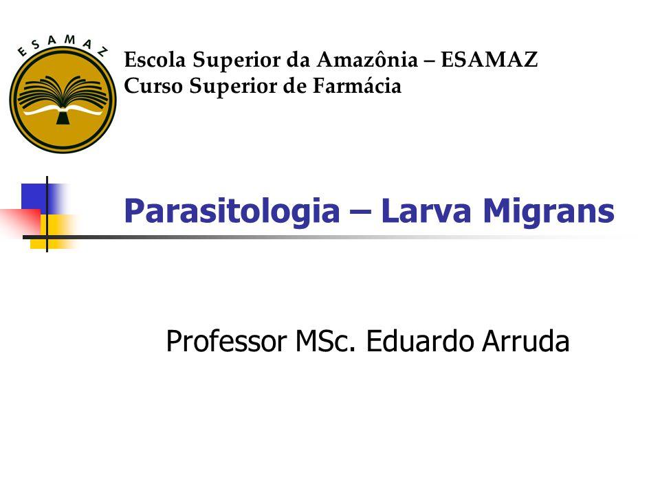 Parasitologia – Larva Migrans