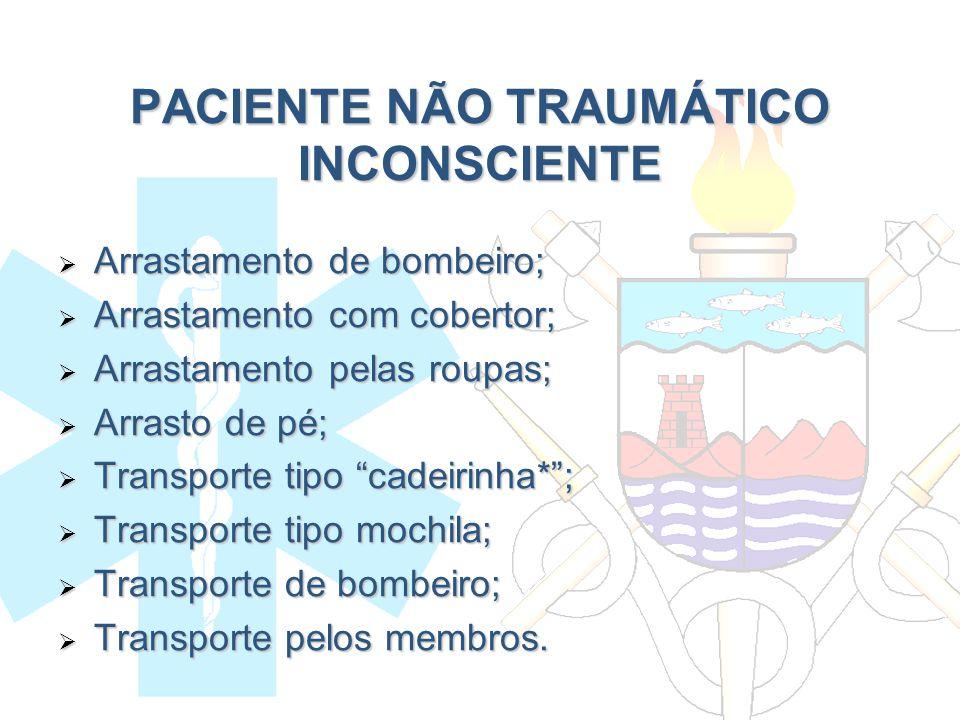 PACIENTE NÃO TRAUMÁTICO INCONSCIENTE