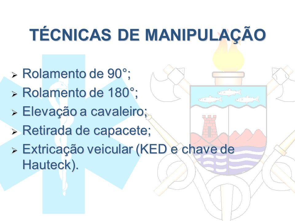 TÉCNICAS DE MANIPULAÇÃO