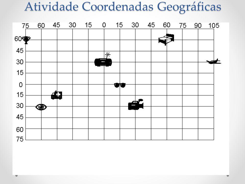 Atividade Coordenadas Geográficas