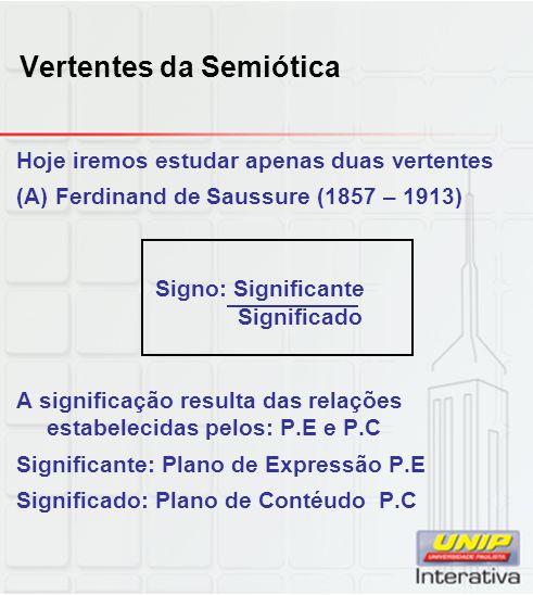 Vertentes da Semiótica
