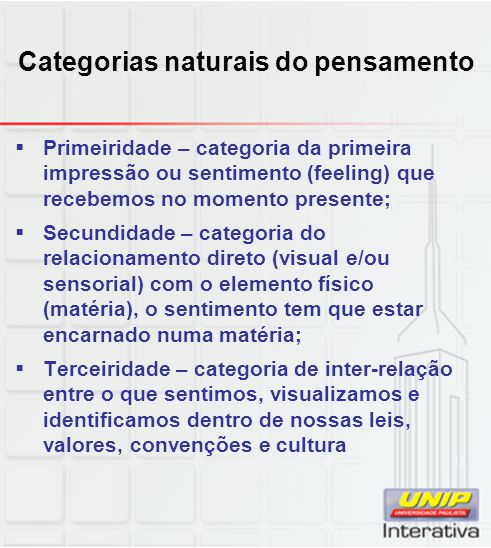 Categorias naturais do pensamento