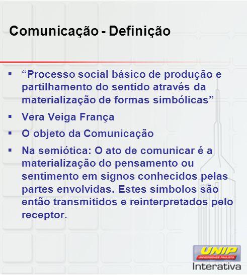 Comunicação - Definição