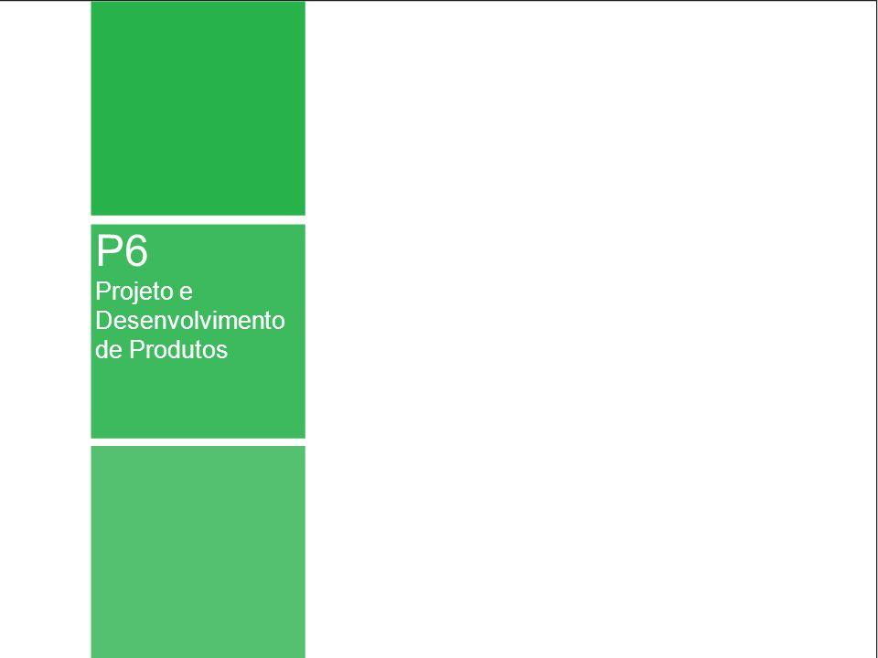 P6 Projeto e Desenvolvimento de Produtos