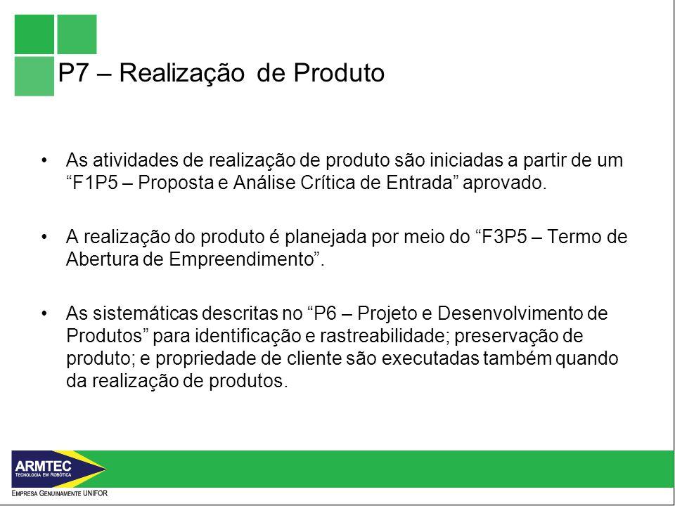P7 – Realização de Produto