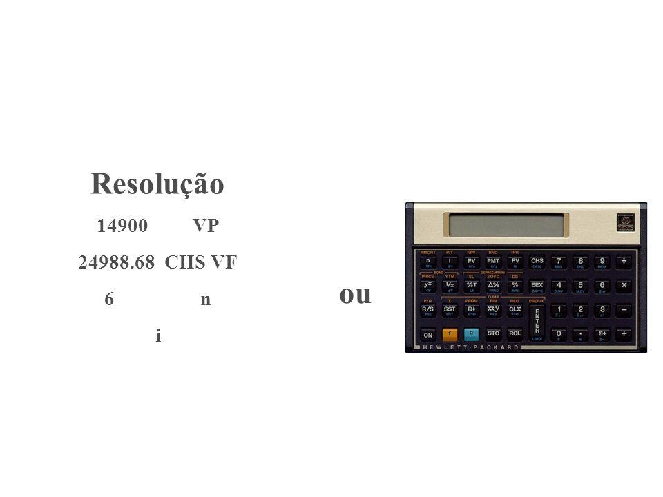 Resolução 14900 VP 24988.68 CHS VF 6 n i ou
