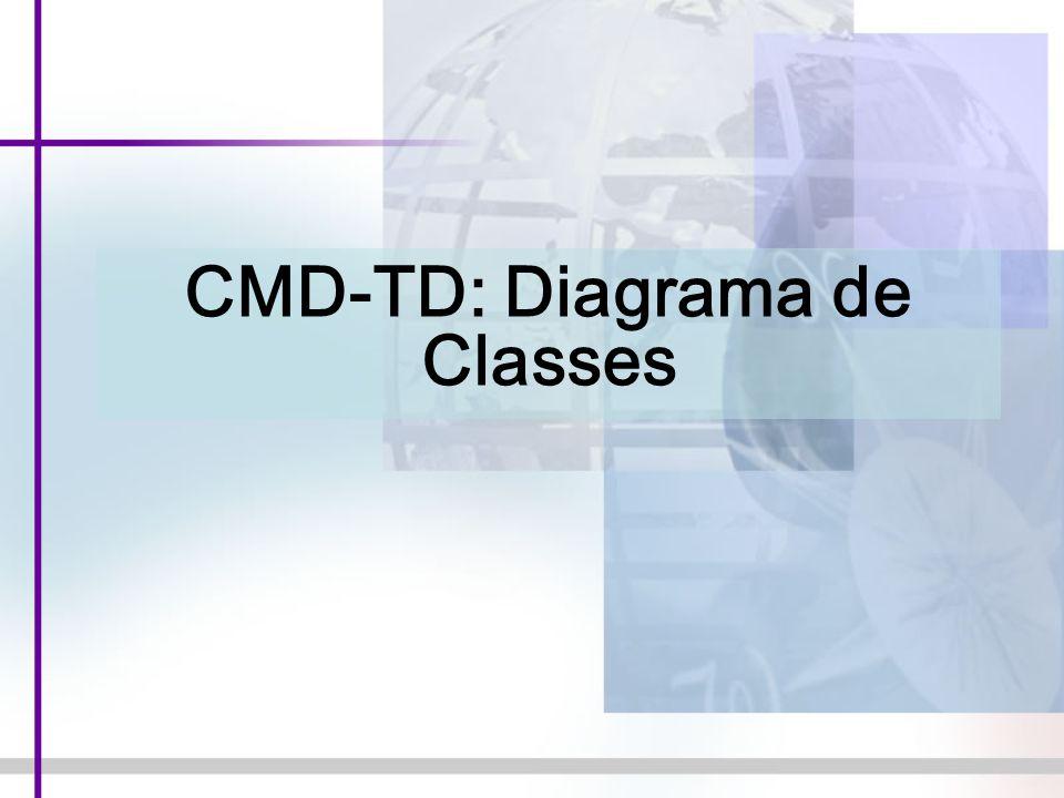 CMD-TD: Diagrama de Classes