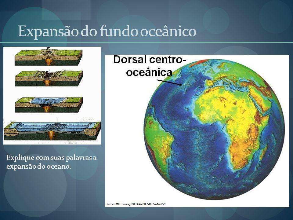Expansão do fundo oceânico