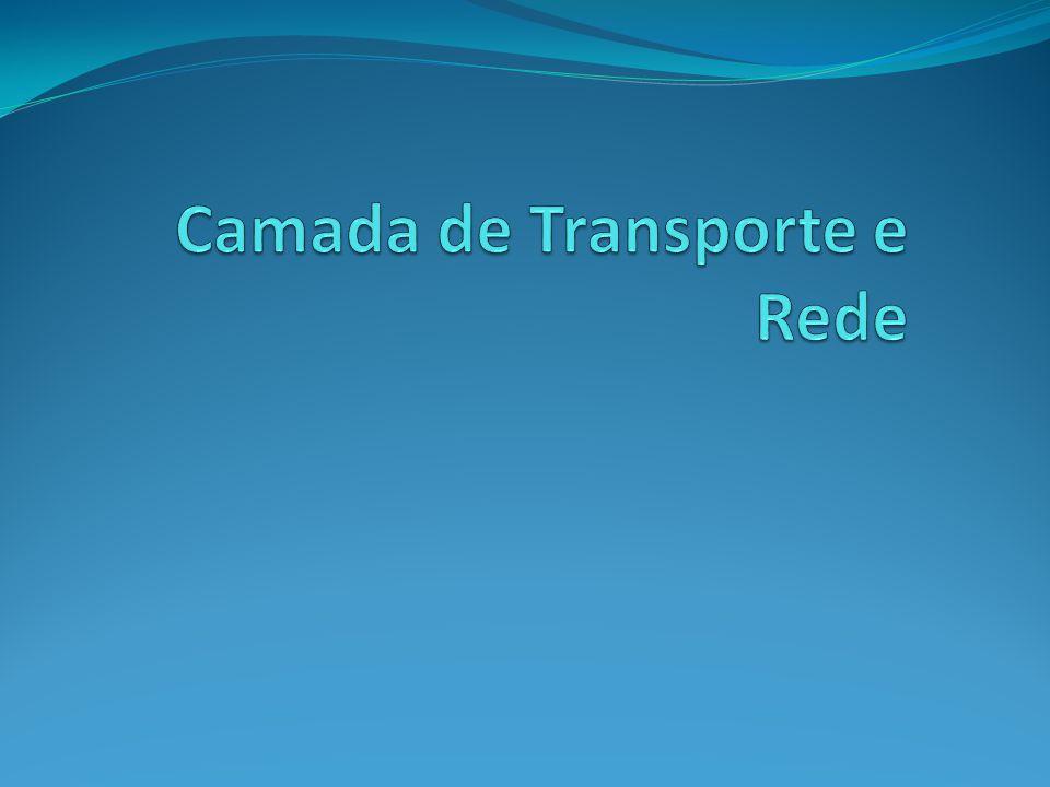Camada de Transporte e Rede