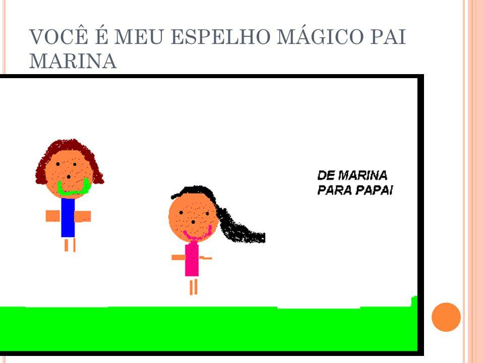 VOCÊ É MEU ESPELHO MÁGICO PAI MARINA