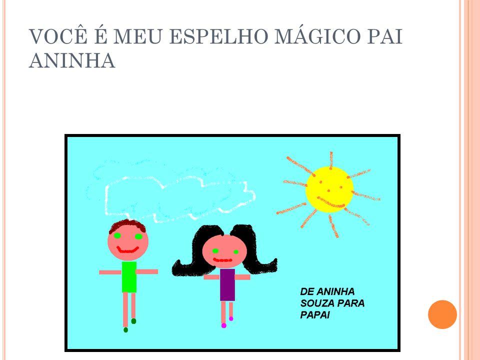 VOCÊ É MEU ESPELHO MÁGICO PAI ANINHA