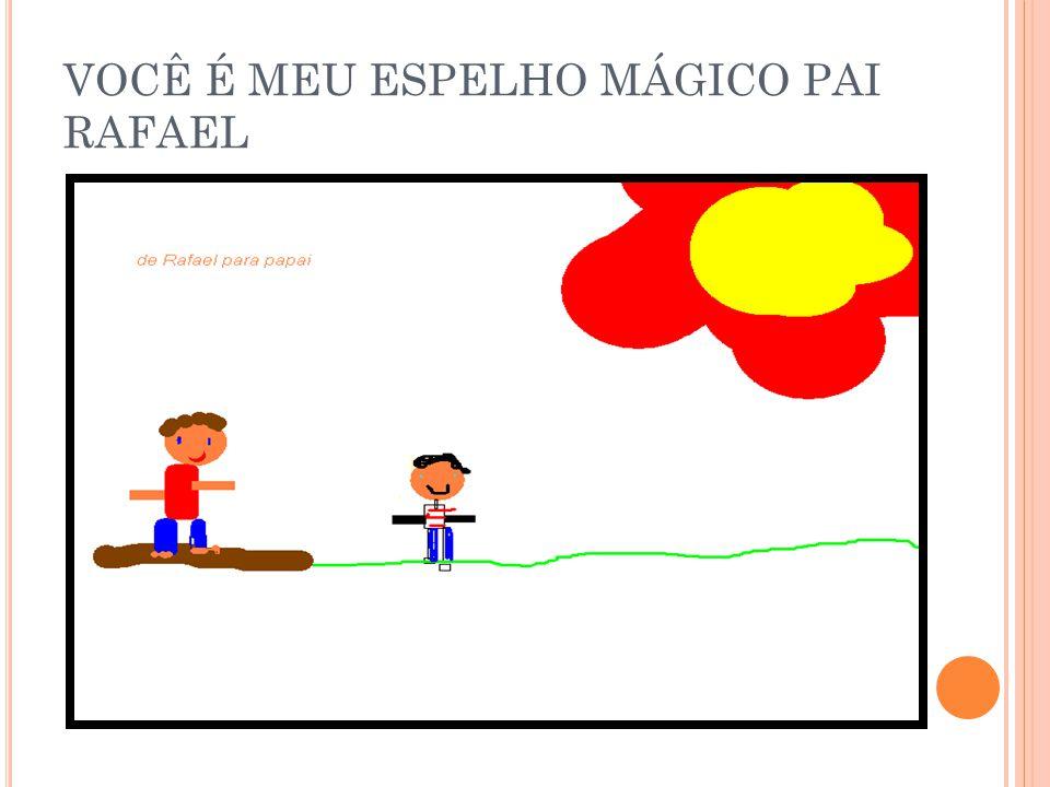 VOCÊ É MEU ESPELHO MÁGICO PAI RAFAEL