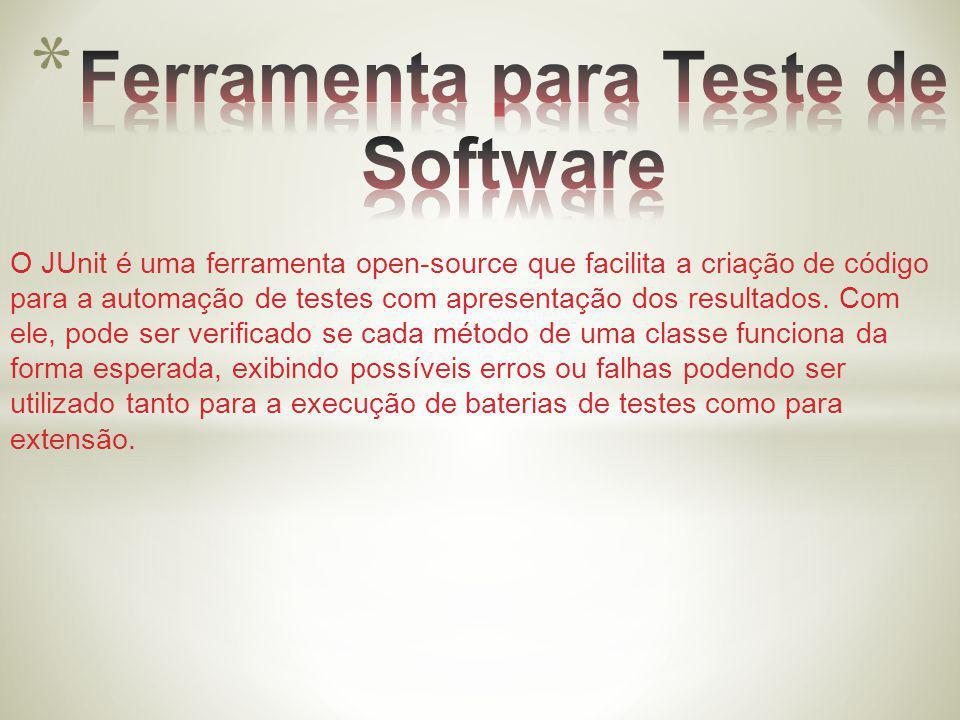 Ferramenta para Teste de Software