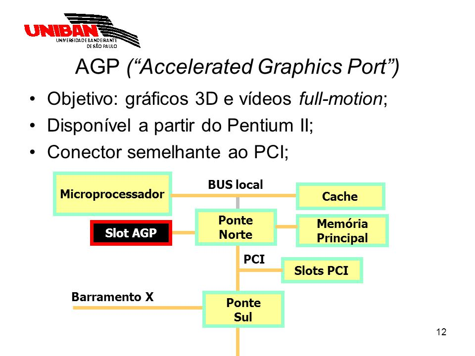AGP ( Accelerated Graphics Port )