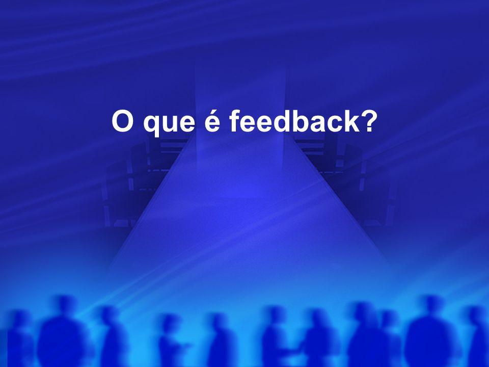 O que é feedback