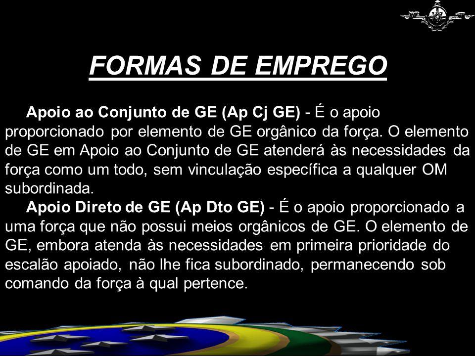 FORMAS DE EMPREGO