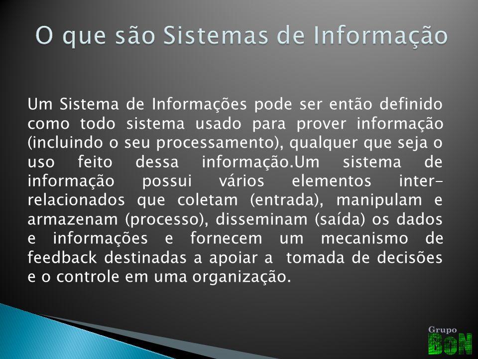O que são Sistemas de Informação
